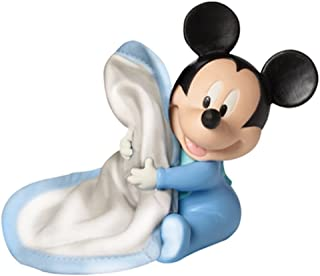 Precious Moments 152701 HUGS AND CUDDLES BABY MICKEY WITH BLANKET