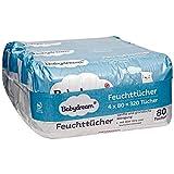 Babydream Feuchttücher 320 Stück 4x80 Tücher sanfte & gründliche Reinigung, mit Aloe Vera & Kamillen-Extrakt
