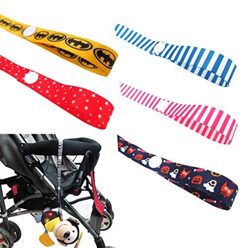 Baby speelgoed beugel voor bijtring, fopspeen voor kinderwagen, kinderstoelen, autostoelen – instelbaar veiligheidsspeelgoed lijn