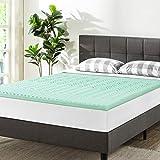 Best Price Mattress Twin Mattress Topper - 1.5 Inch 5-Zone Memory Foam Bed...