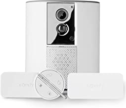 Somfy 1875249 - Somfy One + | Alarmsysteem met geïntegreerde Full HD-bewakingscamera | 90dB sirene | Met 2 IntelliTAG open...