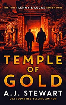 Temple of Gold (A Lenny and Lucas Adventure Book 1) by [A.J. Stewart]