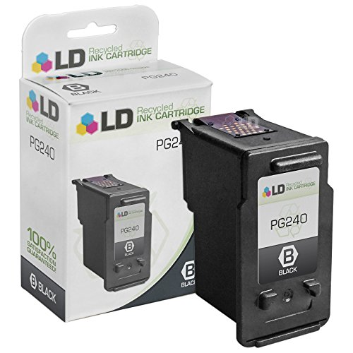 LD Remanufactured Ink Cartridge Replacement for Canon PG-240 5207B001 (Black)