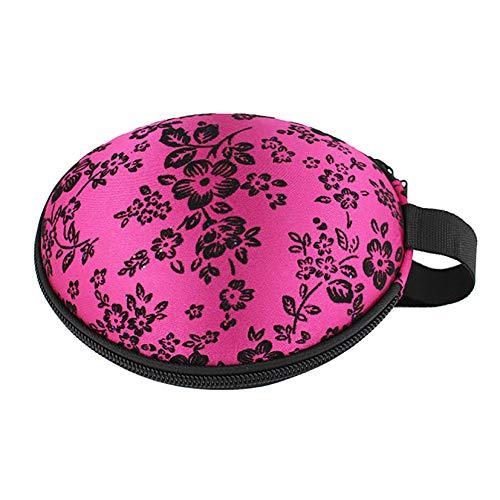 FSXZM Portable Protective Bra Underwear Storage Organizer Travel Organizer Bag for Organising Underpant Bras Socks Scarf Ties,Rose Red