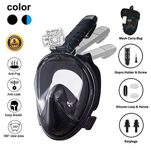 Top 10 Full Face Snorkel Masks Of 2021 Best Reviews Guide