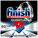 Finish Quantum Ultimate - Pastillas para lavavajillas (80 unidades)