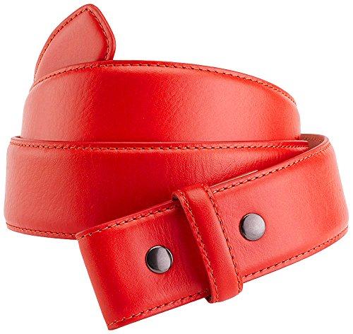 IJP Design, Cintura da Golf Uomo Challenger, Rosso (Red), XL