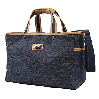 Nicole Miller Paige Collection Carry On Tote Bag (Navy)