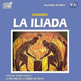 La Iliada [The Iliad] audiobook cover art