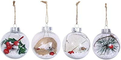 C-POP Shatterproof Christmas Ball Ornaments Christmas Decorations Tree Hanging Balls for Xmas Tree 2.36 12pcs Gold