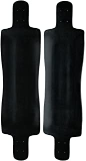 FREERIDE / FREESTYLE LONGBOARD Deck DROP DOWN CONCAVE BLACK 10 x 40 Cruiser