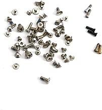 E-REPAIR Complete Full Screw Set Replacment with Bottom Pentalobe Screws for iPhone 5s White/Black/Gold