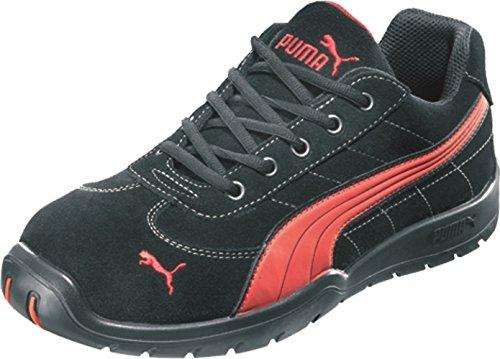 Puma 22273 Safety Shoes Silverstone Low S1P HRO SRC, 642630-210-43 Herren Sicherheitsschuhe, Schwarz, EU 43