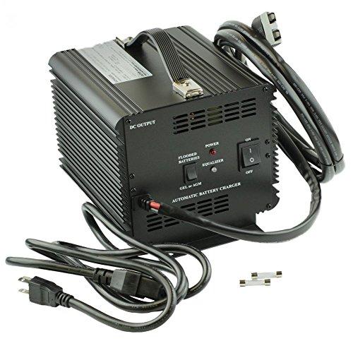 Schauer JAC1548H Club Car Powerdrive Battery / Golf / Equipment Charger: 48 Volt, 15 Amp