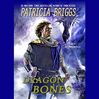 Dragon Bones audiobook cover art