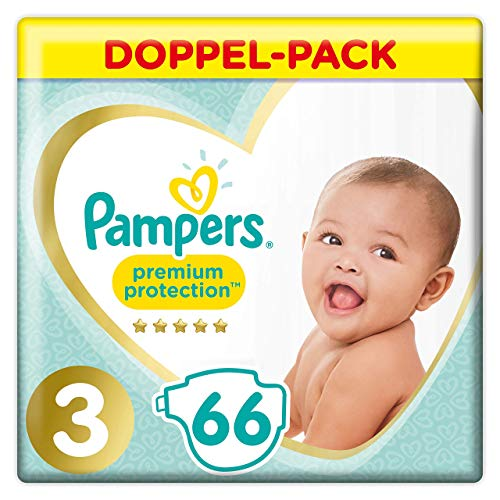 Pampers Premium Protection Windeln, Gr. 3, 66 Windeln