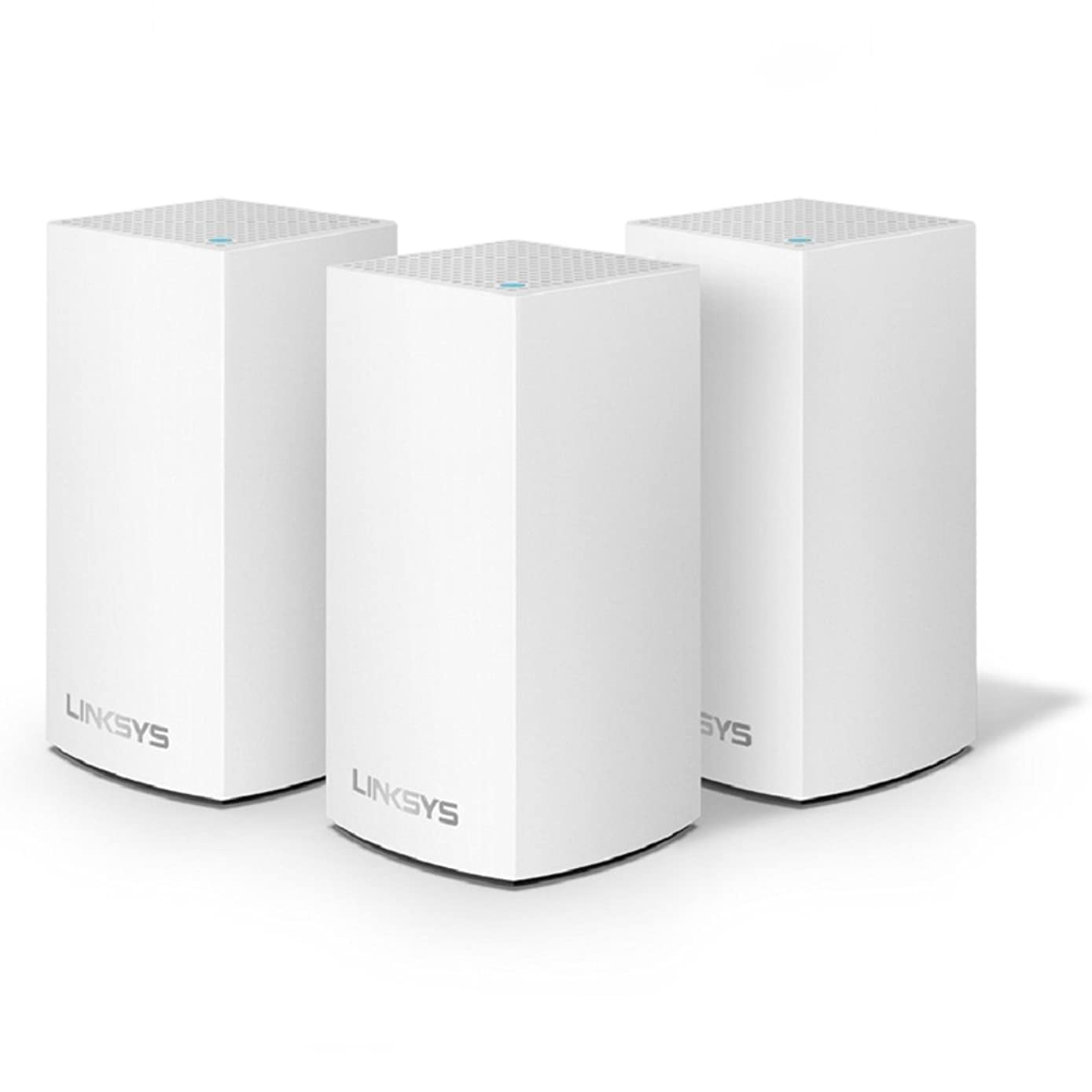 Linksys Velop Home Mesh WiFi System – WiFi Router/WiFi Extender for Whole-Home Mesh Network (3-pack, White)