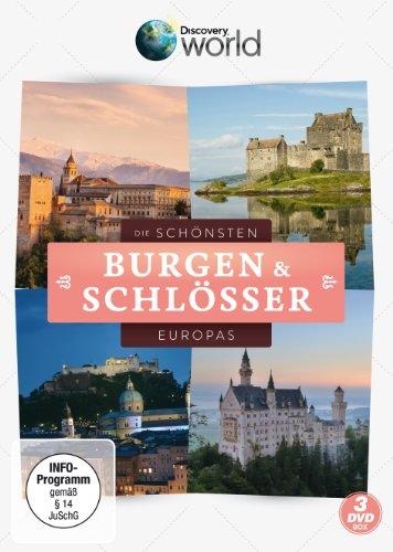 Die schönsten Burgen und Schlösser Europas (3 DVDs)