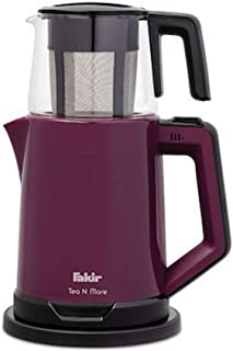 Fakir Tea N More Cam Demlikli Violet Çay Makinesi, 1.8 lt