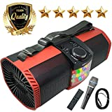 EMB Rechargeable Portable Boombox Street Disco Stereo Speaker 300 Watts - FM /...