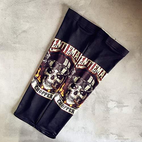 YF Protector Solar Negro Tatuaje Mangas para Hombres Y Mujeres Juegos De Brazos Suministros De Verano Circunferencia del Brazo Superior 30Cm