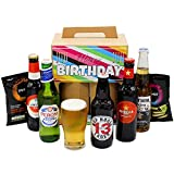 """Happy Birthday"" Premium Beer Hamper 