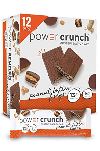 Power Crunch Protein Energy Peanut Butter Fudge Butter Fudge 14 Ounce 12 Count