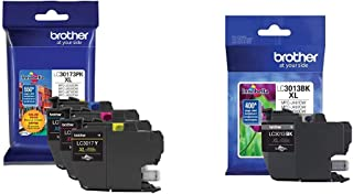 $61 » Brother Printer LC30173PK High Yield XL 3 Pack Ink Cartridges- 1 Ea: Cyan/Magenta/Yellow Ink & Printer High Yield Ink Cart...