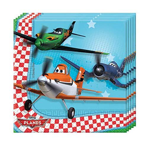 Toyland 20 Serviettes en papier Planes 33 x 33 cm
