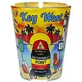 Key West Florida Sunset Shot Glass agc