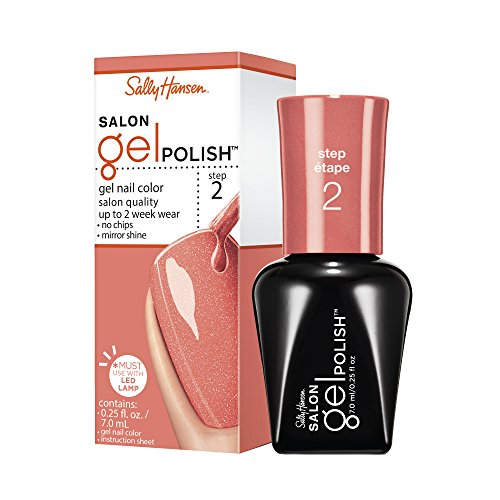 Sally Hansen Salon Gel nagellak, Just Peachy, 0,25 vloeibare ounce
