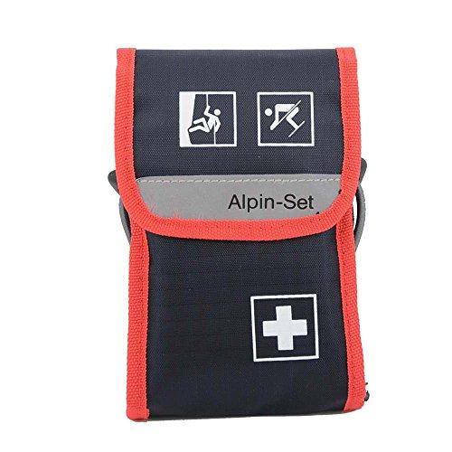 Holthaus Medical Alpin-Set Verbandtasche Erste Hilfe Wander-Tasche, befüllt, 2 Tankas 11,5x17x4cm