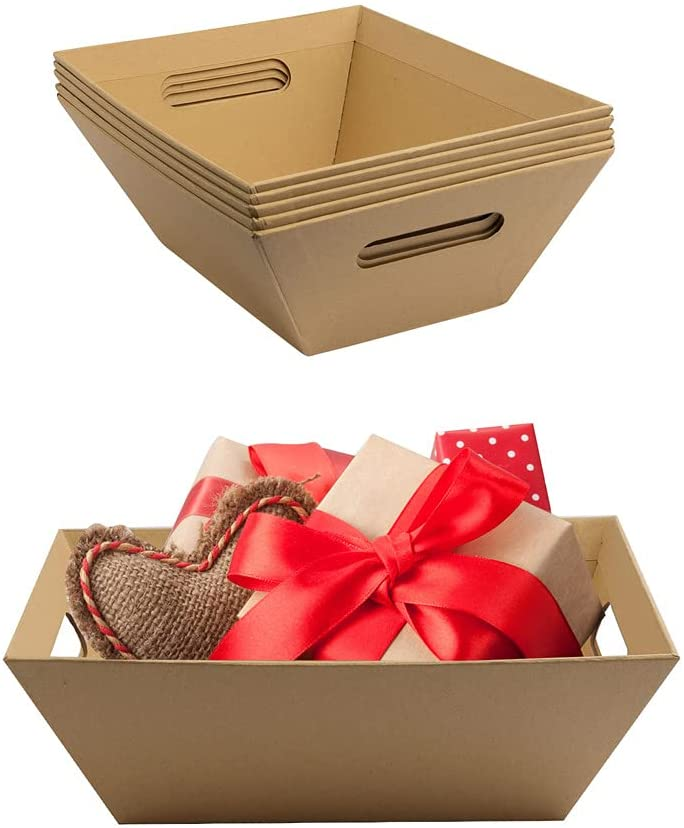 Basket For Gifts Empty Gift Cardboard Popular overseas Tray H With SALENEW very popular!