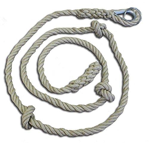 Softee-Corde à Grimper Nœuds 4 M (Usage Uniquement à L'intérieur)