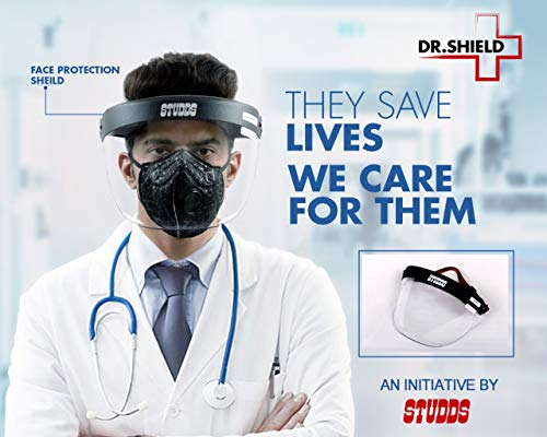 Vroom Customs STUDDS FACE Protection Shield Dr. Shield