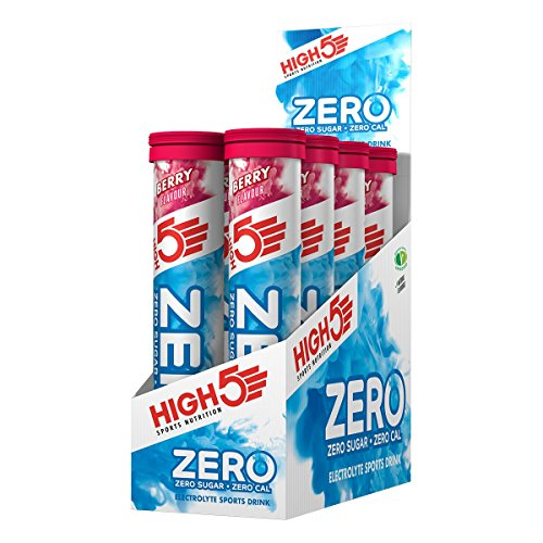 High 5 Zero Hydration 8 x 20 tablet tubes Berry - 8 x 20 tablets