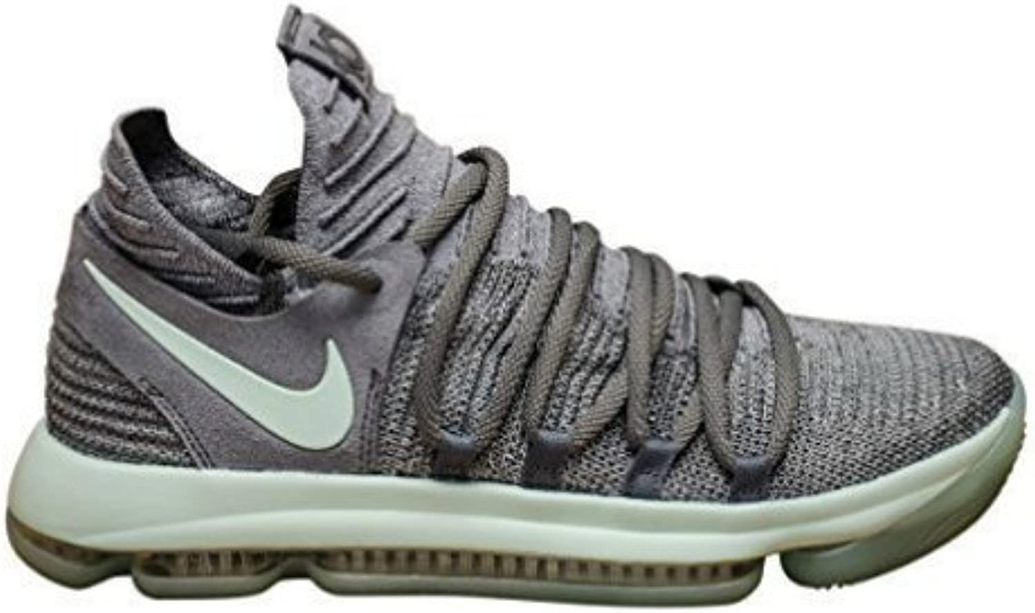 Nike Mens Zoom KD 10 X Mens Basketball Sneakers New, Cool Grey Igloo White 897815-002 (10.5)