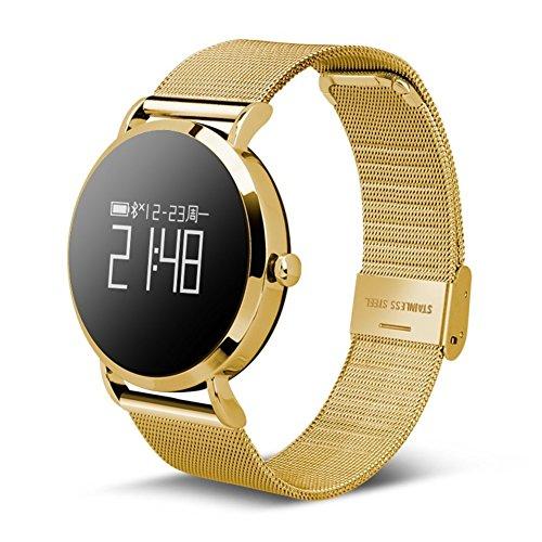 Männer und Frauen Smartwatches,Sportuhr Wasserdicht 30 m Leben Heart Blutdruckmessung Step Counter Handy-Verlust Lange Standby Bluetooth-Uhr Personalisieren-F