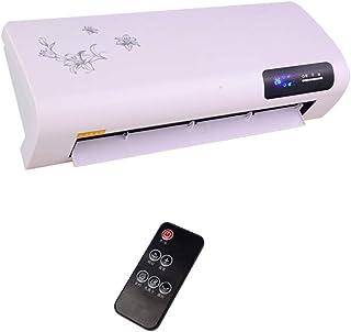 YXCA Heater Radiador De Pared A Prueba De Agua Y Ahorro De Energía Montado En La Pared Caliente-Aire del Ventilador 3 De Velocidad Ajustable,remotecontrol