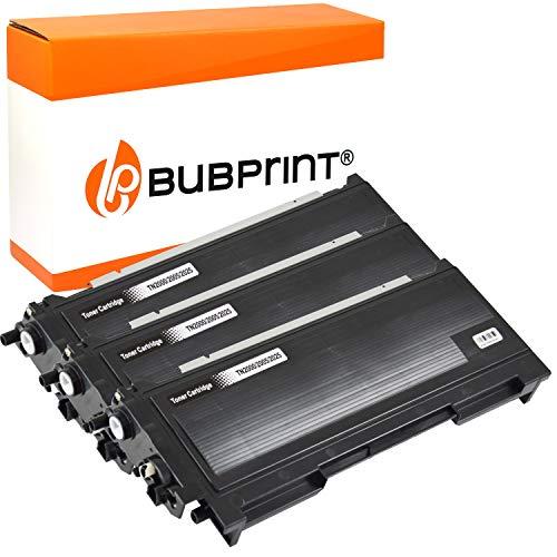 3 Bubprint Toner kompatibel für Brother TN-2000 für DCP-7010 DCP-7010L DCP-7025 HL-2020 HL-2030 HL-2040 HL-2070N MFC-7225N MFC-7420 MFC-7820 MFC-7820N Fax 2820 2920 Schwarz