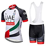 TOPBIKEB Ciclismo Maillot Hombres Jersey y Pantalones Cortos Culot for MTB