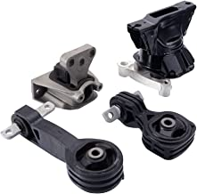 Engine Motor & Trans Mount Set of 4 Compatible for 2006-2010 Honda Civic 1.8L Auto Transmission Replace # A4530 A4534 A4546 A4543
