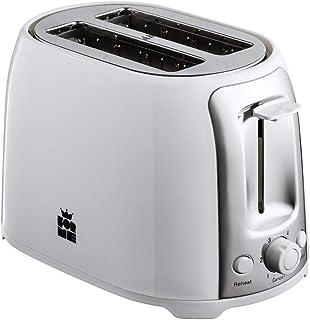 ForMe Grille pain Toaster 2 fentes 750W Grille pains I 4 Niveaux I Réchauffage I Annuler la fonction I fonction décongélat...