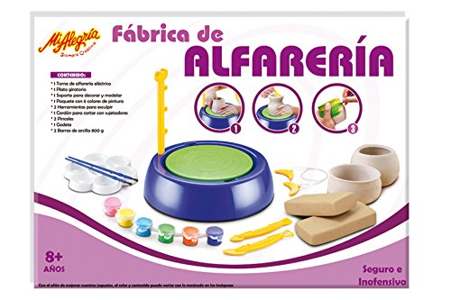 Mi Alegría Kit para Moldear Fabrica de Alfarería