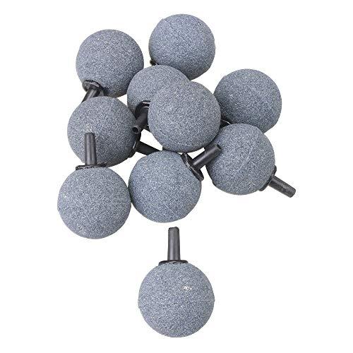 RDEXP 10 Stück Aquarium Luftsteine Kugel 3,0 cm Sauerstoffstein Carbonator Sauerstoffzerstäuber