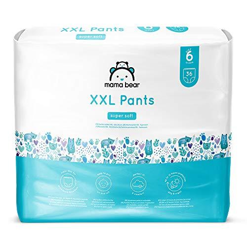 Amazon-Marke: Mama Bear - 72 Höschenwindeln XXL - Größe 6 (18-30kg)
