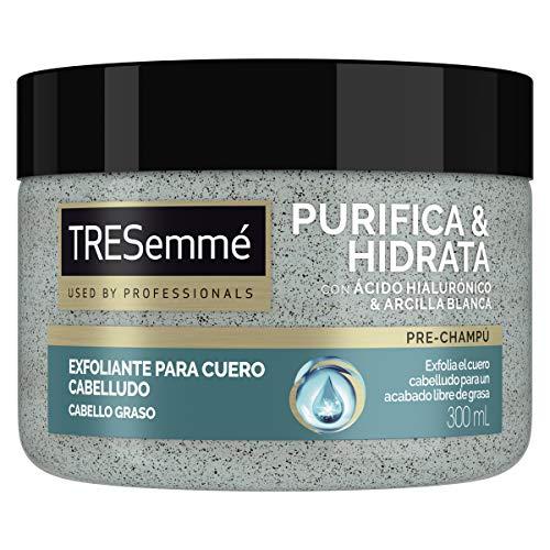 TRESemmé Pre - Champú Exfoliante Purifica e Hidrata 300 ml - Pack de 6