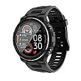 Smartwatch, Reloj Inteligente Deportivo Impermeable IP68 Pulsera de Actividad Inteligente con Monitor de Sueño Hombre Reloj Deportivo para Android iOS