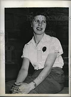 Historic Images - 1943 Vintage Press Photo Rochester NY Beatrice De Filippo held on sabotage charges