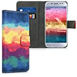kwmobile Wallet Case Compatible with Samsung Galaxy J5